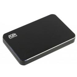 "Внешний бокс для HDD 2.5"" USB 3.0 AgeStar 3UB2A18 SATA алюминий Черный"