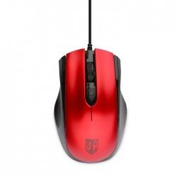 Мышь USB Jet.A Comfort OM-U50 оптическая, 1600dpi, кабель 1.3м, Red