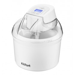 Мороженица Kitfort КТ-1808 Белый 12Вт, 1.5л, таймер