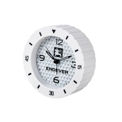 Часы будильник Endever RealTime 92 Белый 24ч. формат, будильник