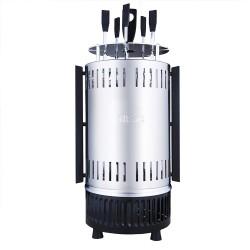 Шашлычница электрическая Kitfort КТ-1405 Silver 900Вт, 5 шампуров
