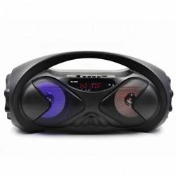 Портативная колонка RS8884ch Bluetooth, FM, microSD/USB/FM/LED/TWS/дисплей, Черный