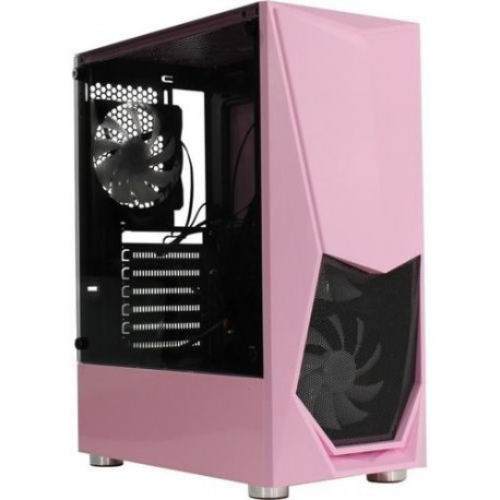 СБ Альдо AMD Стандарт Ryzen 5 1500X(4/8*3.5-3.7)/8ГБ DDR4/SSD m2 480ГБ/GTX1050Ti*4ГБ/W10 Pro/розовый