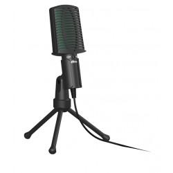 Микрофон Ritmix RDM-126 настольный, конденсаторный, 50-16000Гц, 2200Ом Black