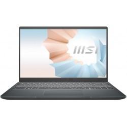 """Ноутбук MSI Modern 14 Intel Core i5-1135G7 2.4GHz,14"""" FHD (1920x1080) IPS AG,8Gb DDR4-3200(1),512Gb SSD NVMe,52Wh,Kbd Backlit,1.3kg,1y,Carbon Grey,Win10 (B11MO-063RU-GG51135U8GXXDX10SH) 9S7-14D314-063"""