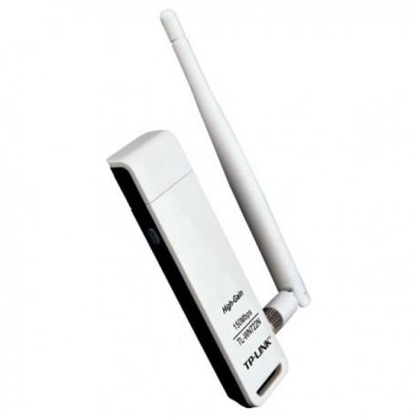 Адаптер WI-FI USB TP-Link TL-WN722N 150 Mbps 802.11n съемная антенна