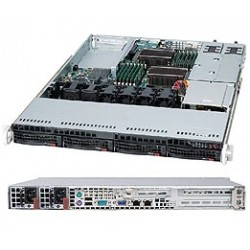 "Supermicro SuperChassis 1U CSE-815TQC-R706WB/noHDD(4)LFF/2xFHFl,1xLP/2x700/750WPlatinum/WIO(12.3"" x 13.4"")/Backplane4x12GbpsLFF"