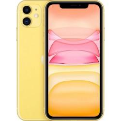 "Смартфон Apple iPhone 11 64Gb желтый 1sim/6.1""/1792*828/A13/64Gb/12+12Мп/NFC/iOS13/MHDE3RU/A"