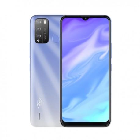 "Смартфон Itel Vision 1 PRO itL6502 Ice Crystal Blue 2sim/6.5""/1600*720/4*1.4ГГц/2Gb/32Gb/mSD/8Мп/And10/4000mAh"