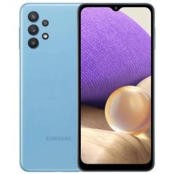 "Смартфон Samsung Galaxy A32 128Gb SM-A325F Синий 2sim/6.4""/2400*1080/2х2ГГц+6*1.8/4Gb/128Gb/mSD/64+8+5+5/NFC/And11/5000mAh"