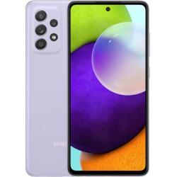 "Смартфон Samsung Galaxy A52 256GB SM-A525F Фиолетовый 2sim/6.5""/2400*1080/2х2.3ГГц+6x1.8ГГц/8Gb/256Gb/mSD/64+12+5+5МП/NFC/And10/4500mAh"