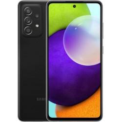 "Смартфон Samsung Galaxy A52 256GB SM-A525F Черный 2sim/6.5""/2400*1080/2х2.3ГГц+6x1.8ГГц/8Gb/256Gb/mSD/64+12+5+5МП/NFC/And10/4500mAh"