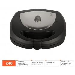 Мультипекарь Redmond RMB-PM600 Black 700Вт, 1 вид панелей в комплекте