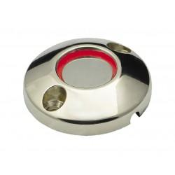 Считыватель BT-R1 (KTM-H) накладной TM (универсальный).Touch Memory.Корпус -металл, хром. Подсветка по контуру (красный цвет)