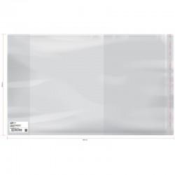 Обложка ПП Спейс 230*380мм, 70мкм, для учебников ст. классов, с липким слоем, SP 230.2