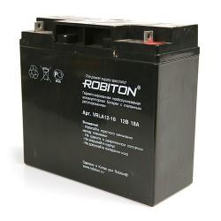 Аккумулятор свинцовый Robiton VRLA12-18/12в 18Ah