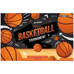 """Альбом для рисования 20л. """"Увлечения. Basketball"""" Спейс (А20 35998)"""