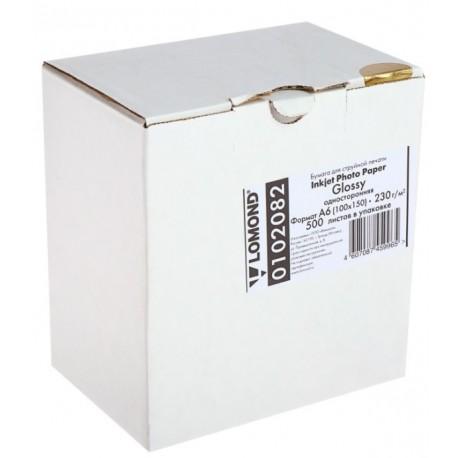 Бумага Lomond 230 г/м2, 10x15, глянцевая, 500л. (0102082)