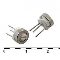 Резистор подстроечный 3329H, 100ом, 0.5вт, 10%, 240°, 6.35*4.57мм, СП3-19А