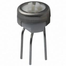 Резистор подстроечный 3329P, 100ом, 0.5вт, 10%, 240°, 6.35*5.82мм