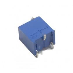 Резистор подстроечный 3269W,  10ом, 0.25вт, 10%, 4320°, 6.35*4.32*7.44мм
