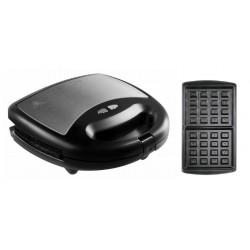 Мультипекарь Redmond RMB-M613/1 Black 700Вт, съемные панели