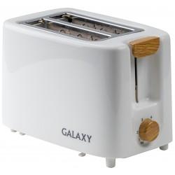 Тостер Galaxy GL 2909 White 800Вт, механическое управление