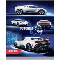 """Дневник 1-11кл. Спейс  """"Авто. Futuristic car"""" (Ду40т 31125)"""