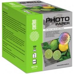 Бумага Cactus 200 г/м2, 10х15, матовая, 500л.  CS-MA6200500