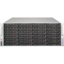 """Supermicro Storage JBOD Chassis 4U 846BE1C-R609JBOD Up to 24 x 3.5"""" /Expander Backplanes(4xminiSASHD)"""