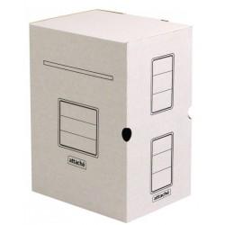 Короб архивный 20см. ATTACHE гофрокартон, белый (809773)