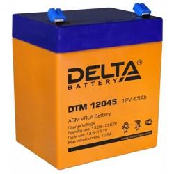 Аккумулятор Delta DTM 12045 (12V, 4.5Ah)