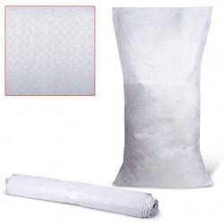 Мешок полипропиленовый белый 105*55см, 50 кг
