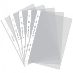 Файл перфорированный А5 40мкм. BERLINGO 1шт. матовый (AFp 05106)