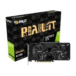 Видеокарта Palit GeForce GTX1660 DUAL (6Гб, GDDR5,192bit,HDMI,DP,DVI NE51660018J9-1161C,ret)