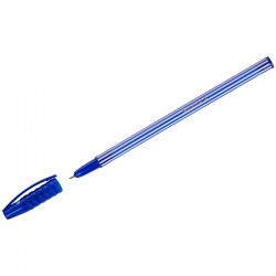 "Ручка шариковая LUXOR ""Stripes"" синяя 0.5мм (31131)"