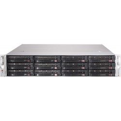 "Supermicro Storage JBOD Chassis 2U 826BE1C-R609JBOD Up to 12 x 3.5""/ Expander Backplane(4xminiSASHD)"