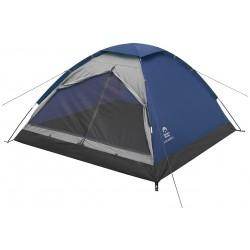 Палатка Jungle Camp Lite Dome 3 синий/серый 195x205x120см 70842