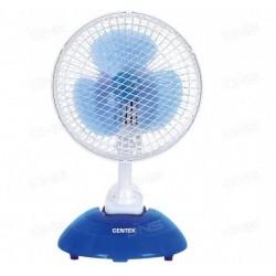Вентилятор настольный Centek CT-5003 Blue диам. лоп. 15см, 20Вт