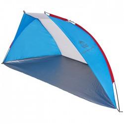 Тент пляжный Jungle Camp Caribbean Beach синий/серый 270х120х120см 70866