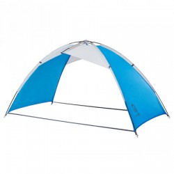 Тент пляжный Jungle Camp Palm Beach синий/серый 210х125х120см 70868