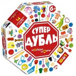 "Игра настольная Dream Makers ""Супер Дубль"" 2012С"