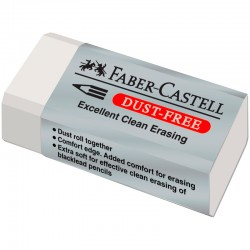 Ластик Faber-Castell  Dust Free (187130)