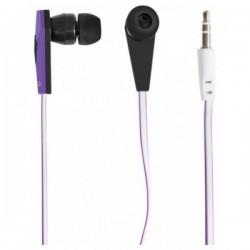 Наушники Defender Trendy-705 вставные, 32Ом, 105дБ, кабель 1.1м, Black/Purple