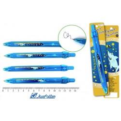 "Ручка шариковая  J.Otten ""Акула"" автомат, синяя 2971-6"