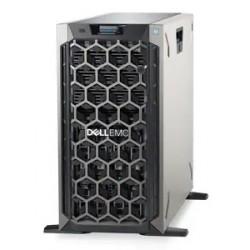 DELL PowerEdge T340 Tower 8LFF/ Intel Xeon E-2224/noUDIMM(4)/ no PERC PCI-E FH/ noHDD/ 2xGE/ Bezel/ noDVD/ iDRAC9 Ent/ 1x495W/ 3YBWNBD
