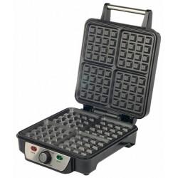Вафельница First 5305-3 Black 1100Вт, 4 поверхности 22х22 см, сталь,световые индикаторы