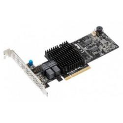 ASUS PIKE II 3108-8I/16PD,8 pots,LSI SAS 3108,RAID 0/RAID 1/RAID 10/RAID 5/RAID 6/RAID 50/RAID 60,upto 12GB/S