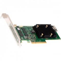 Broadcom/LSI 9560-8I SGL (05-50077-01) PCIe 4.0 x8 LP, SAS/SATA/NVMe, RAID 0,1,5,6,10,50,60, 8port(1*int SFF8654), 4GB Cache, 3908ROC, RTL
