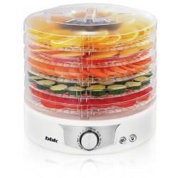 Сушилка для овощей BBK BDH301M/W-M Белый/Металик 240Вт, 5 поддонов, корпус/пластик